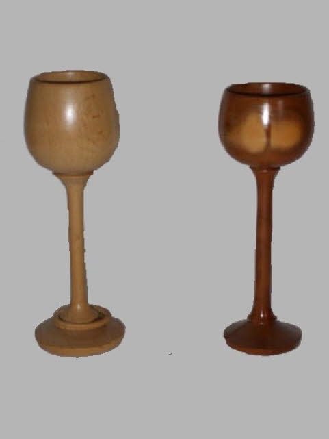 A pair of goblets by George Hill